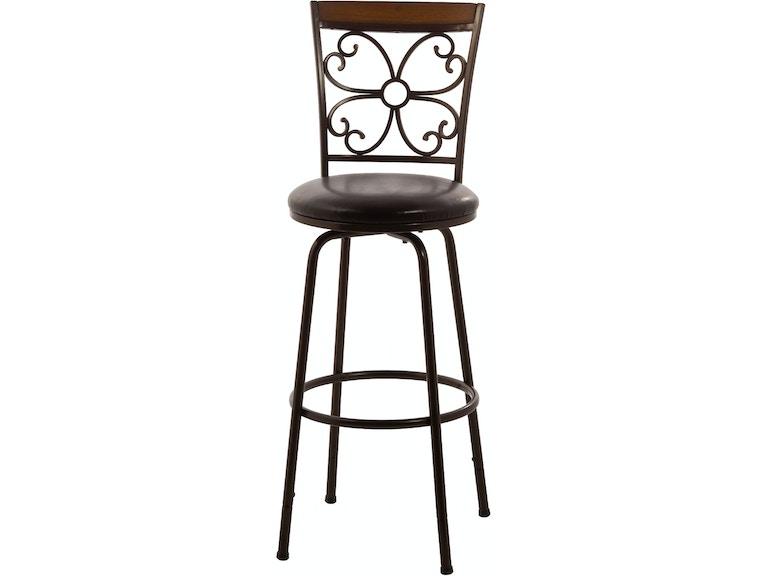Peachy Hillsdale Furniture Bar And Game Room Garrison Swivel Unemploymentrelief Wooden Chair Designs For Living Room Unemploymentrelieforg
