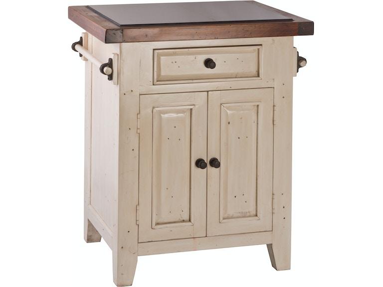 Hilale Furniture Tuscan Retreat Granite Top Small Kitchen Island Hil5465855w From Walter E Smithe