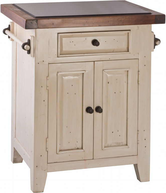 Hillsdale Furniture Tuscan Retreat Granite Top Small Kitchen Island