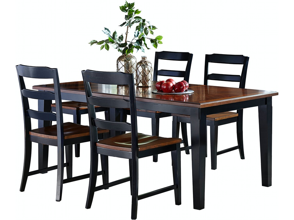 Hillsdale furniture dining room avalon 5 pc dining set for 5 dining room chairs
