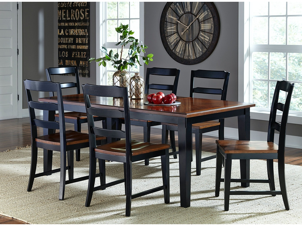 Hillsdale furniture dining room avalon pc set