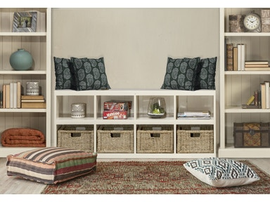 Hillsdale Furniture Tuscan Retreat ® Storage Cube with Baskets 5518-962W