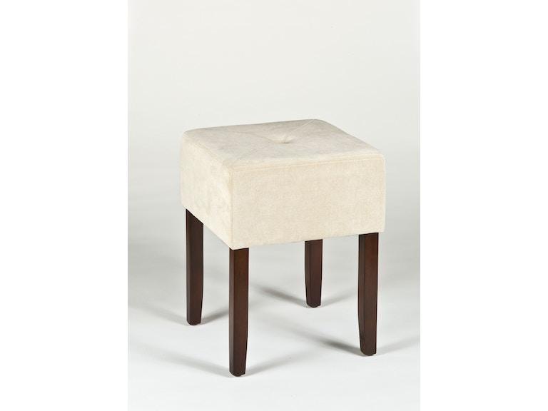 Hillsdale Furniture Bedroom Bellamy Backless Vanity Stool ...