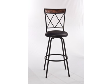 4b225e6121079d Hillsdale Furniture Bar and Game Room Howard Metal Adjustable Barstool -  Nested Leg