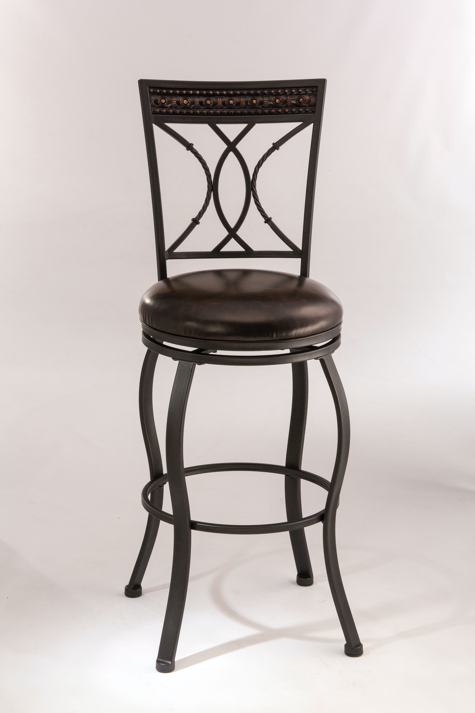 Hillsdale Furniture Bar and Game Room Kirkham Swivel Counter Stool