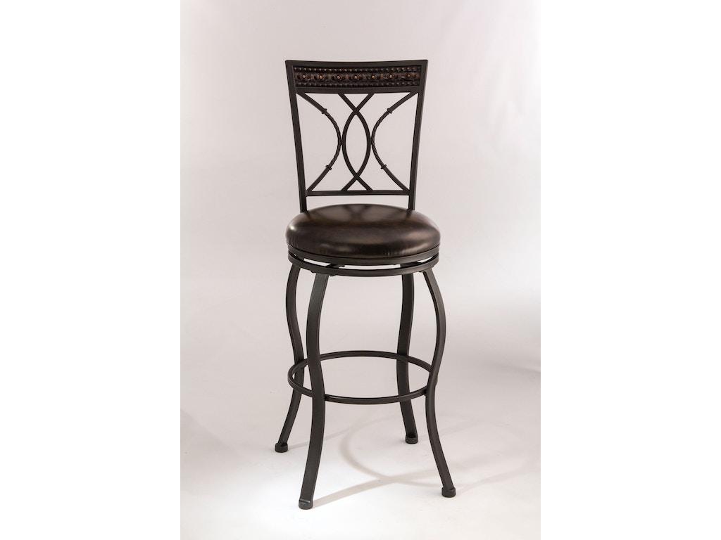 Hillsdale furniture bar and game room kirkham swivel for Furniture quiz