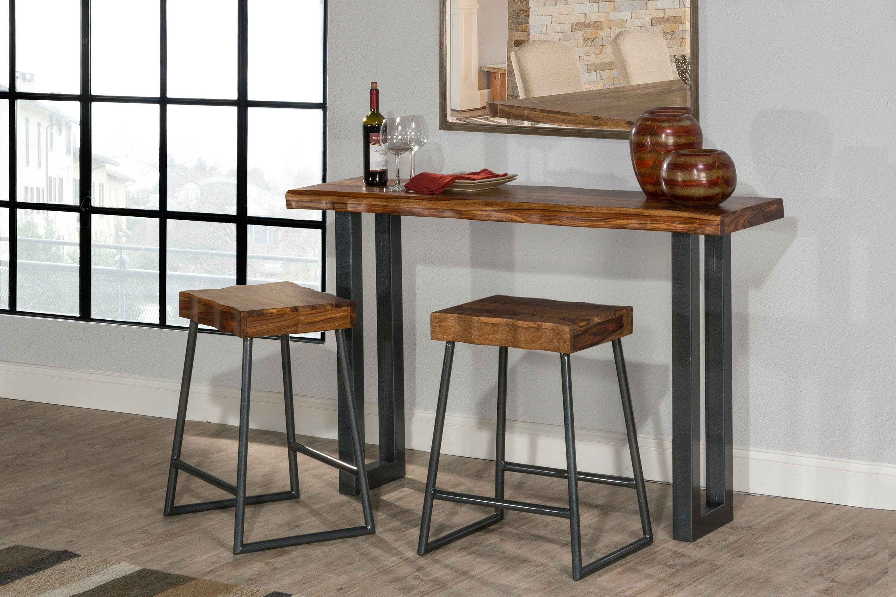 Hillsdale Furniture Dining Room Emerson 7 Piece Rectangle