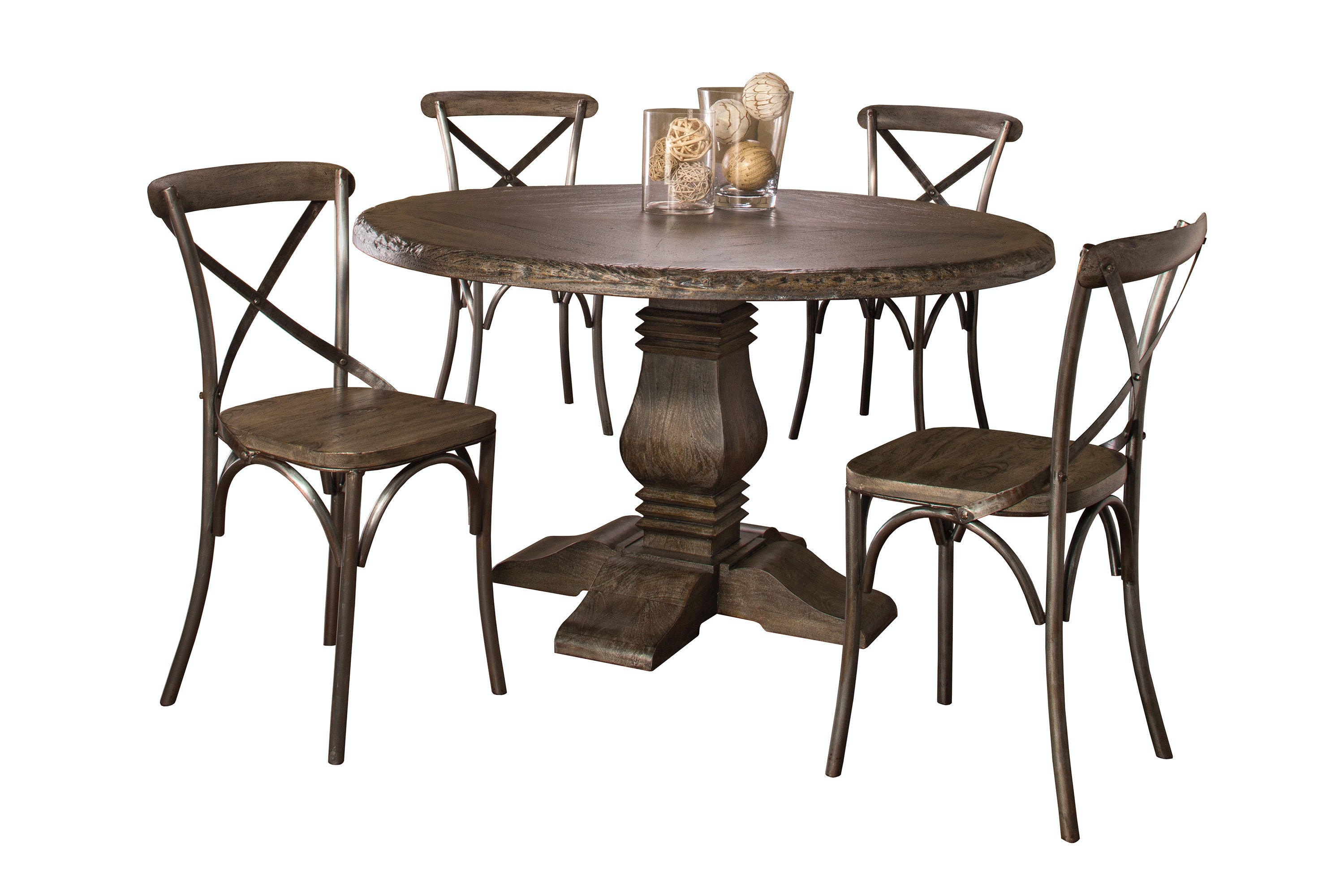Odium Counter Height Dining Room Table And Bar Stools