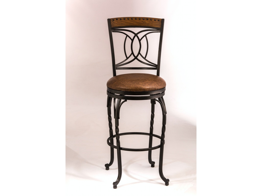Hillsdale furniture bar and game room donovan swivel for Furniture quiz