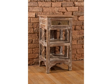 Hillsdale Furniture Alena Accent Stand - Graywash 5727-901