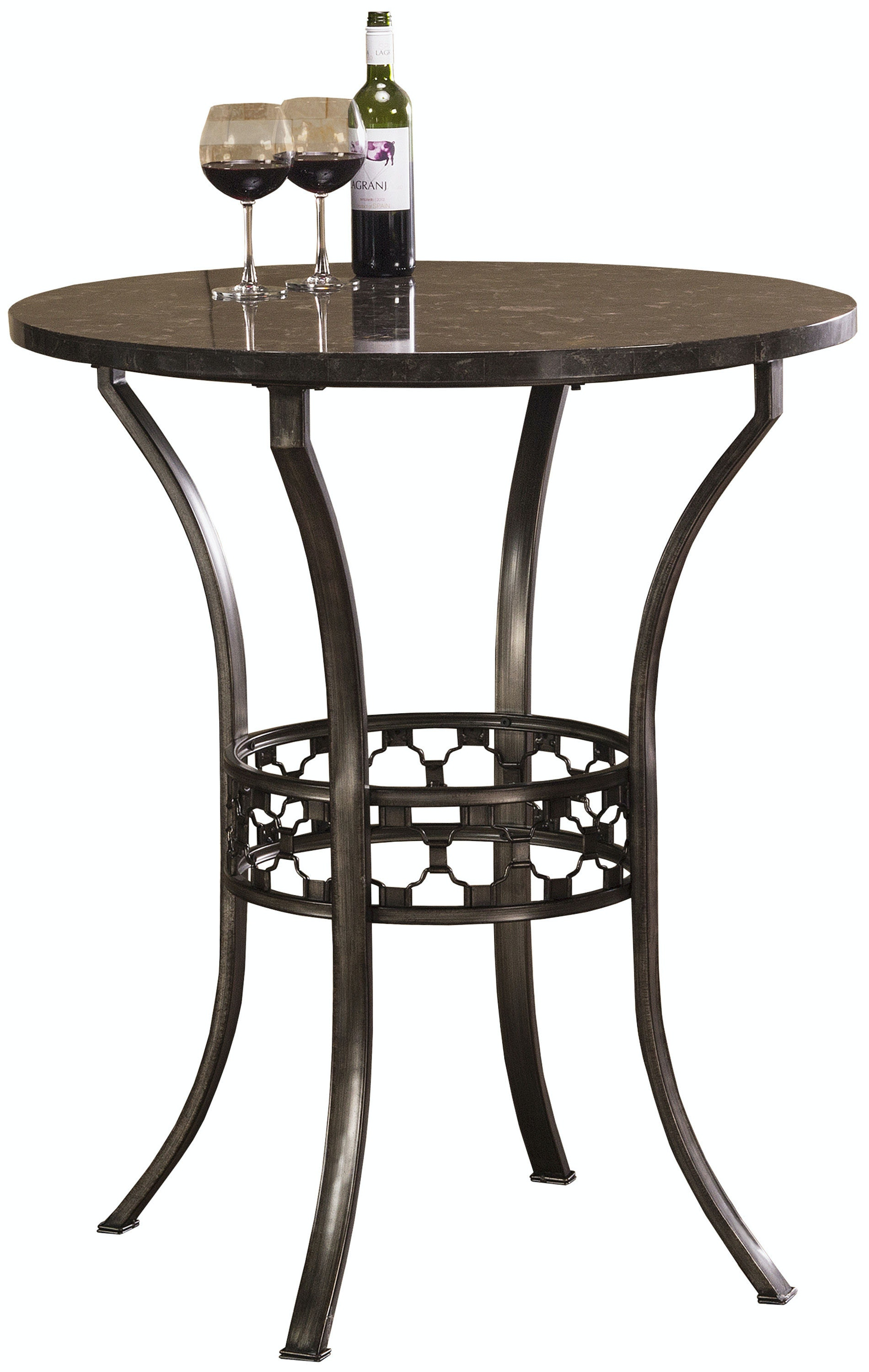 Hillsdale Furniture Brescello 3 Piece Bar Height Bistro Dining Set 5752PTBS