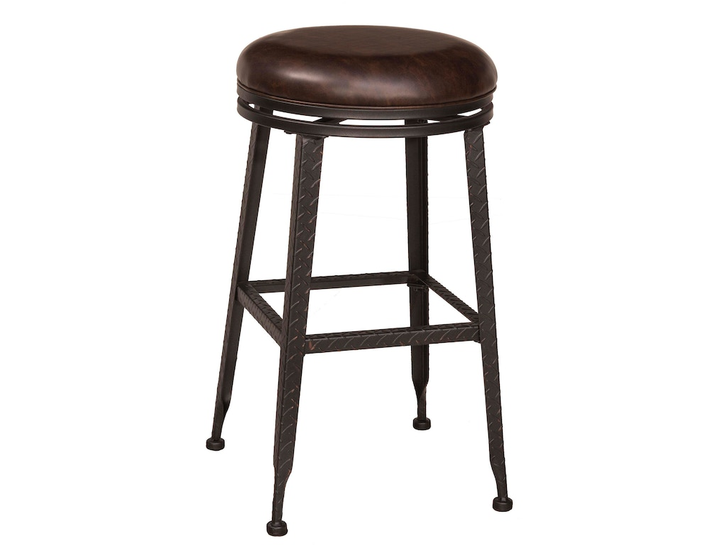 Hammary Bar And Game Room Adjustable Height Pub Stool 090 878 Flemington Department Store