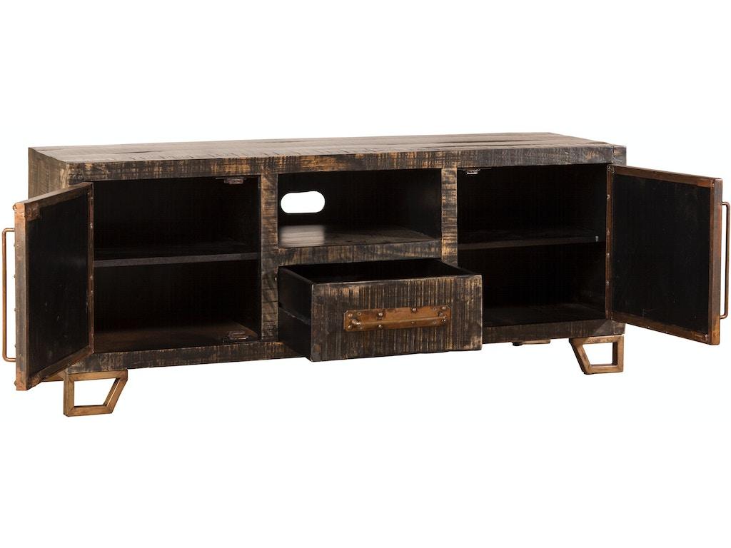 Hillsdale Furniture Home Entertainment Bridgewater Entertainment Console 5806 890 Hickory
