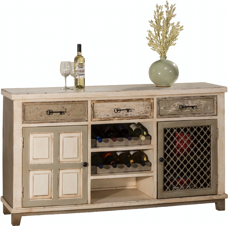 Hilale Furniture Larose 2 Door Console Table With Removable Wine Rack Hil5808866 From Walter