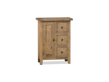 Hillsdale Furniture Tuscan Retreat ® Coffee Cabinet with 3 (Three) Drawers and 1 (One) Door 5826-1025W