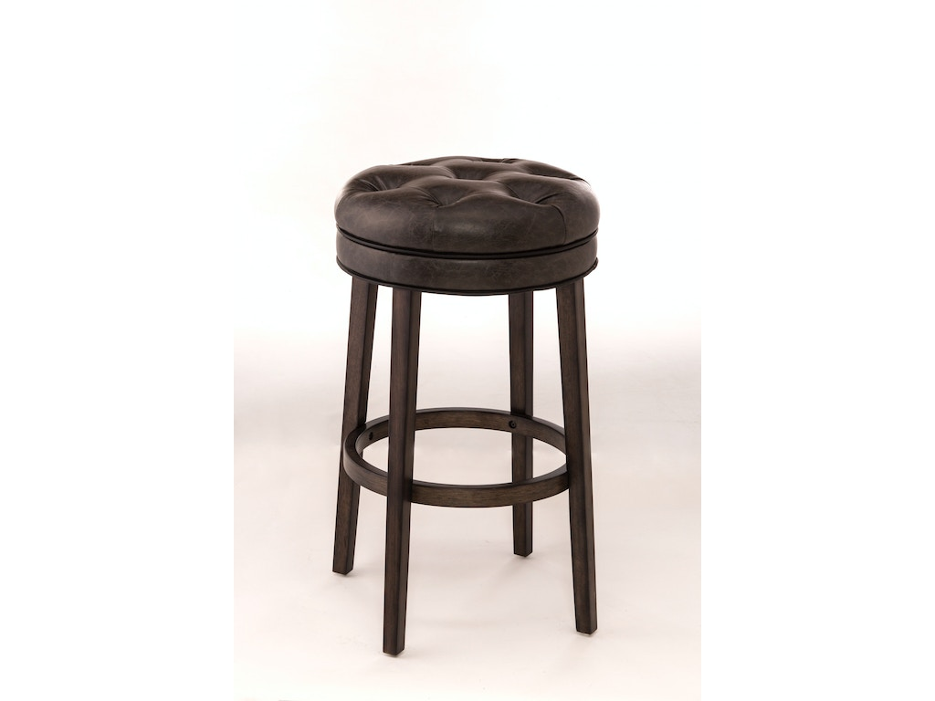 Hillsdale Furniture Bar And Game Room Krauss Backless Swivel Counter Stool Tyndall Furniture