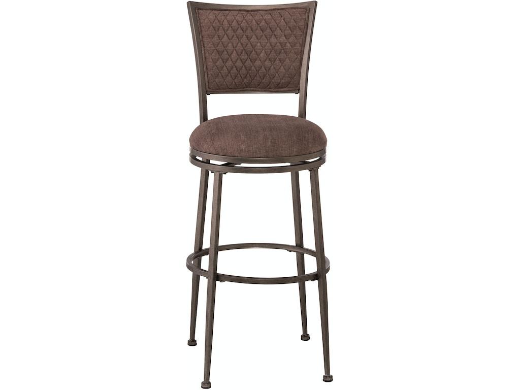 Hillsdale furniture bar and game room burke swivel bar for Furniture quiz