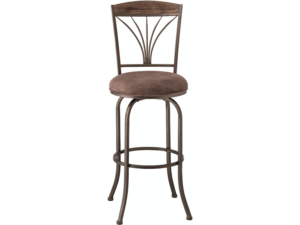 Hillsdale furniture bar and game room cresmont swivel for Furniture quiz