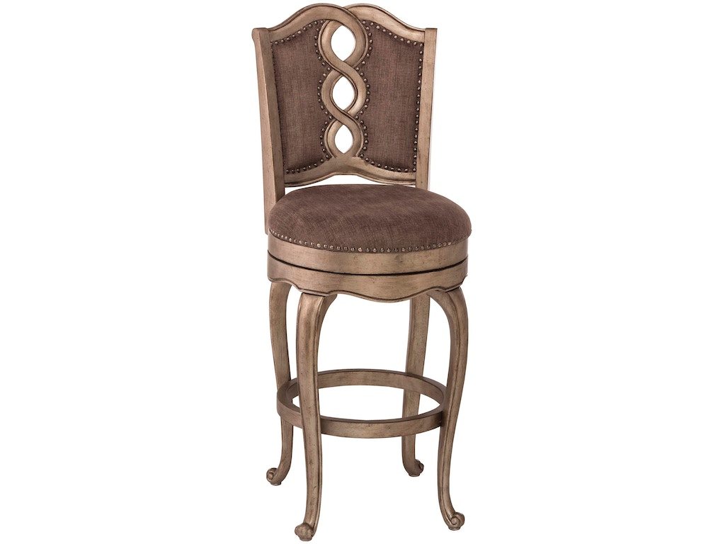 Hillsdale furniture bar and game room lake side swivel for Furniture quiz