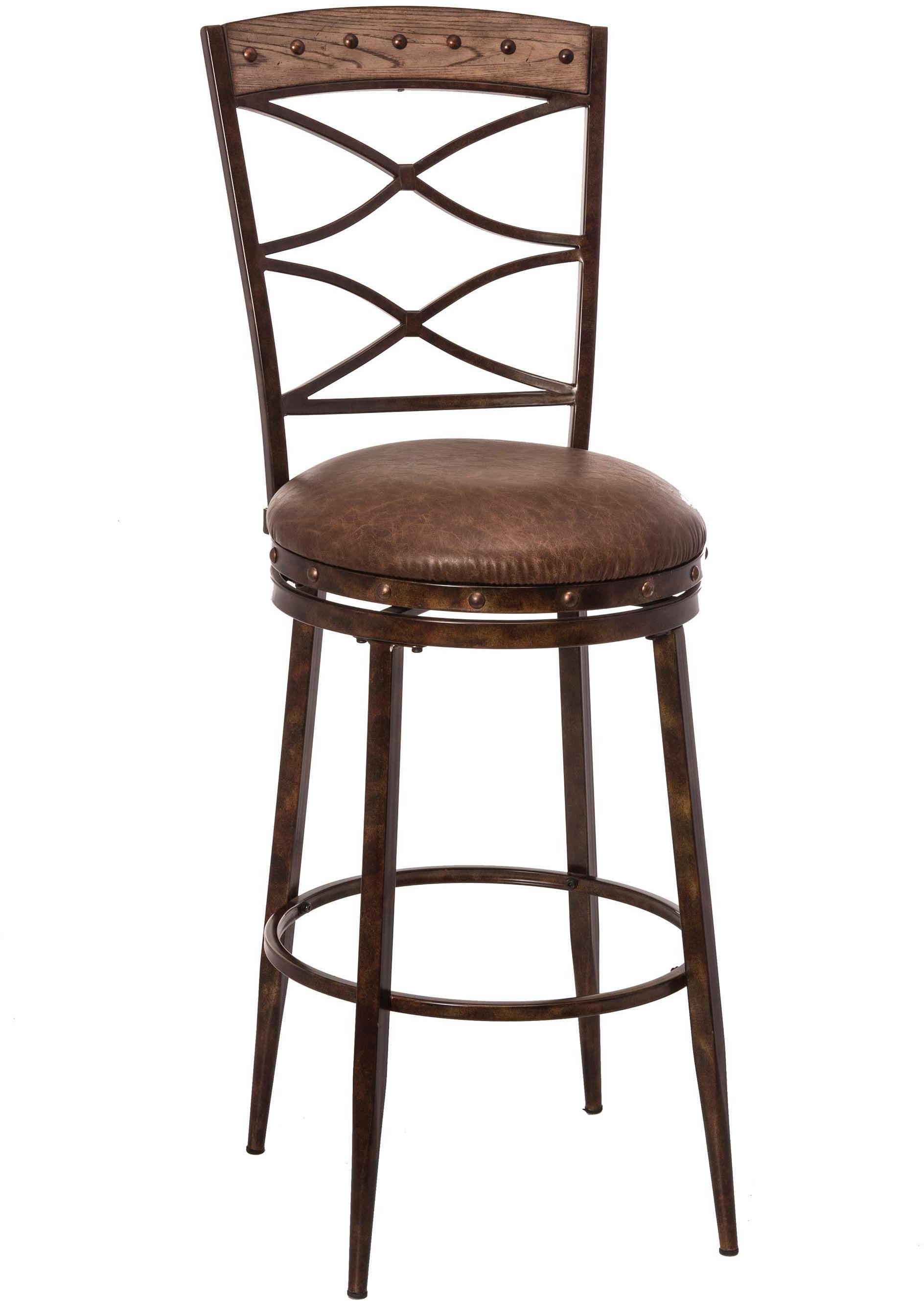 Hillsdale Furniture Emmons Swivel Bar Stool 5984 830