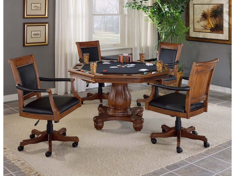Terrific Hillsdale Furniture Bar And Game Room Kingston 5 Piece Game Pabps2019 Chair Design Images Pabps2019Com
