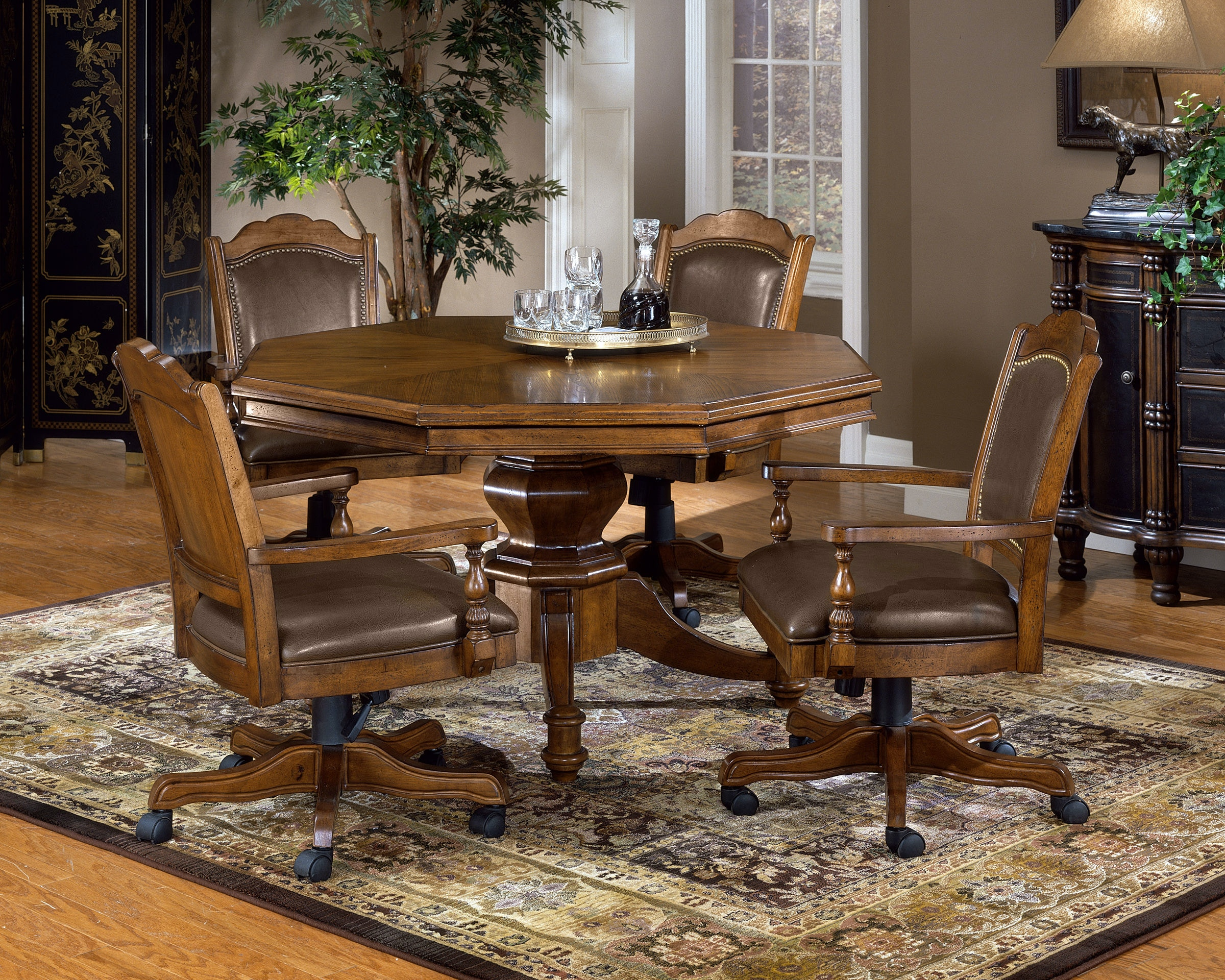 Hillsdale Furniture Bar And Game Room Nassau Game Table   Base 6060 810 At  Gaviganu0027s Furniture