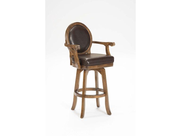 Stupendous Hillsdale Furniture Warrington Swivel Bar Stool Wendells Beatyapartments Chair Design Images Beatyapartmentscom