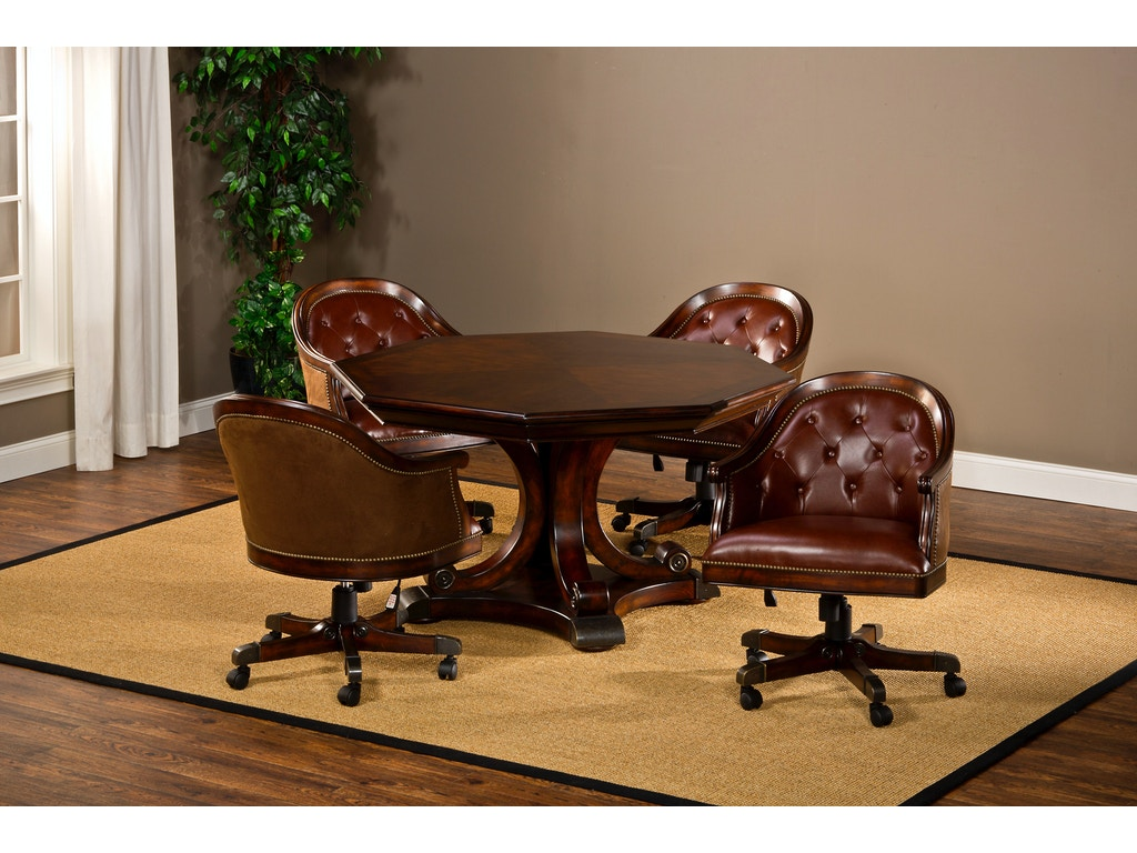 Hillsdale furniture bar and game room harding game table for Furniture quiz