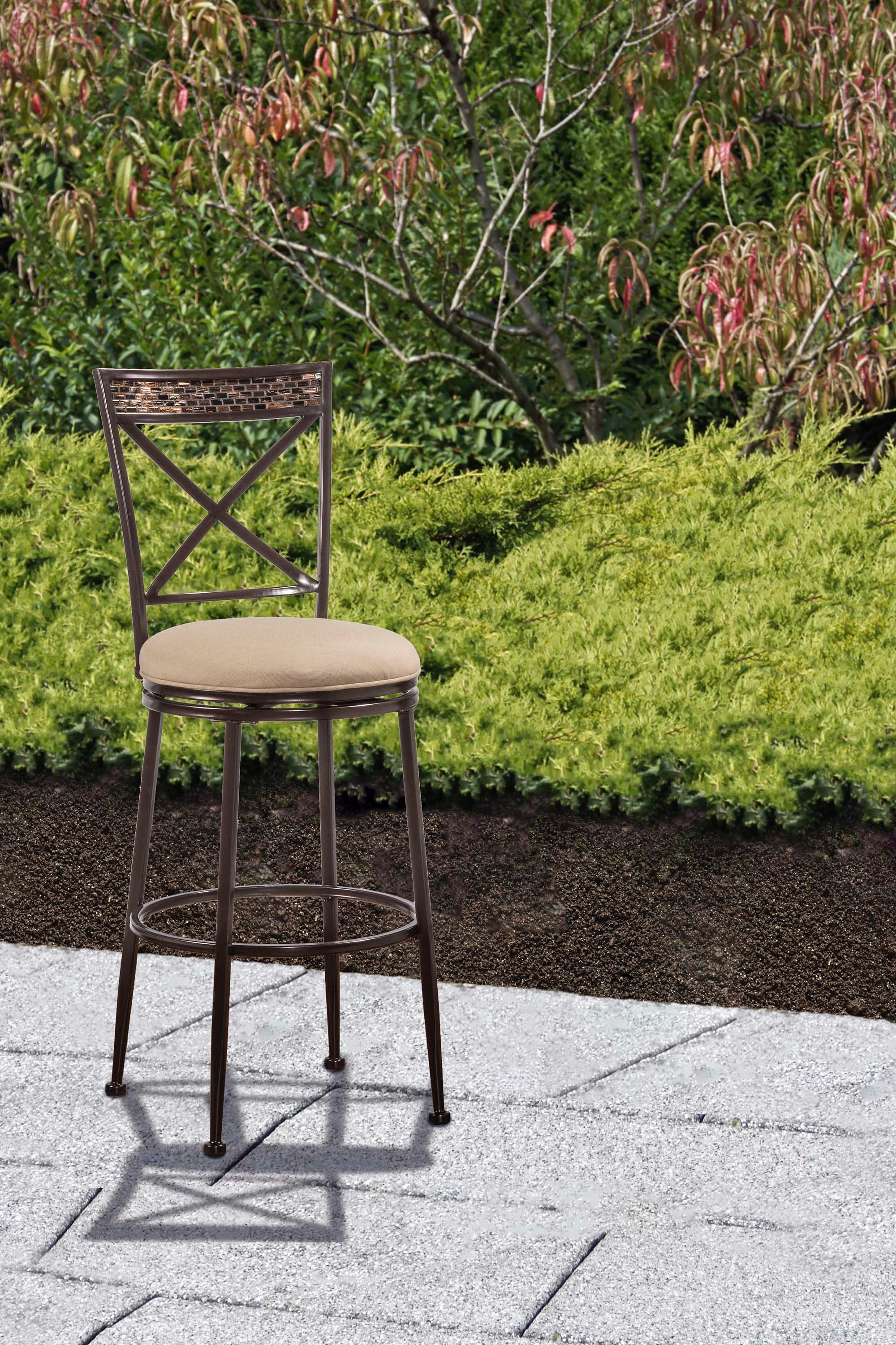 Hillsdale Furniture Indoor/Outdoor Pullman Swivel Counter Stool 6317 826