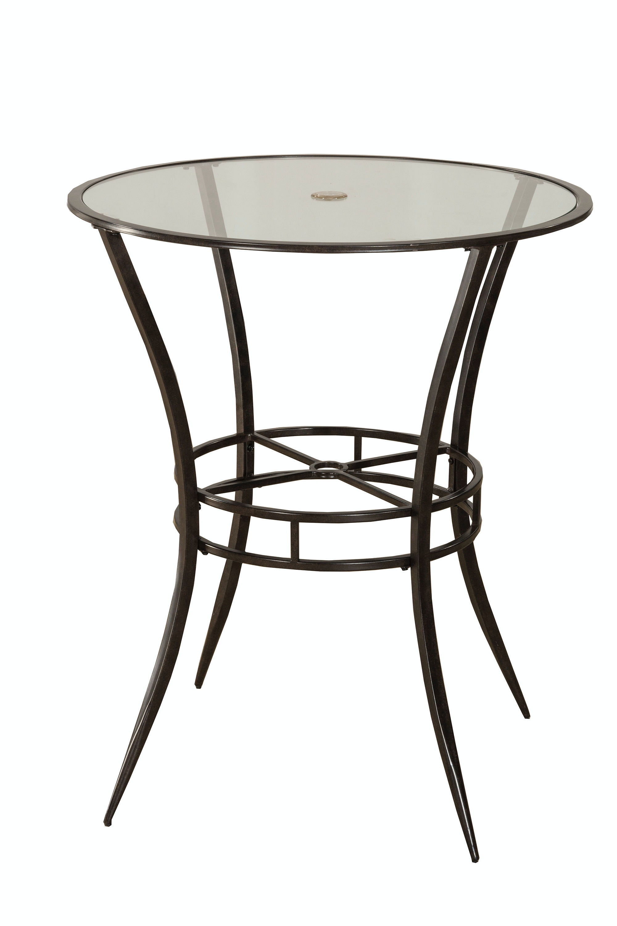 Hillsdale Furniture Outdoor/Patio Indoor/Outdoor Bar Height Bistro Table  6323PTB At Carol House