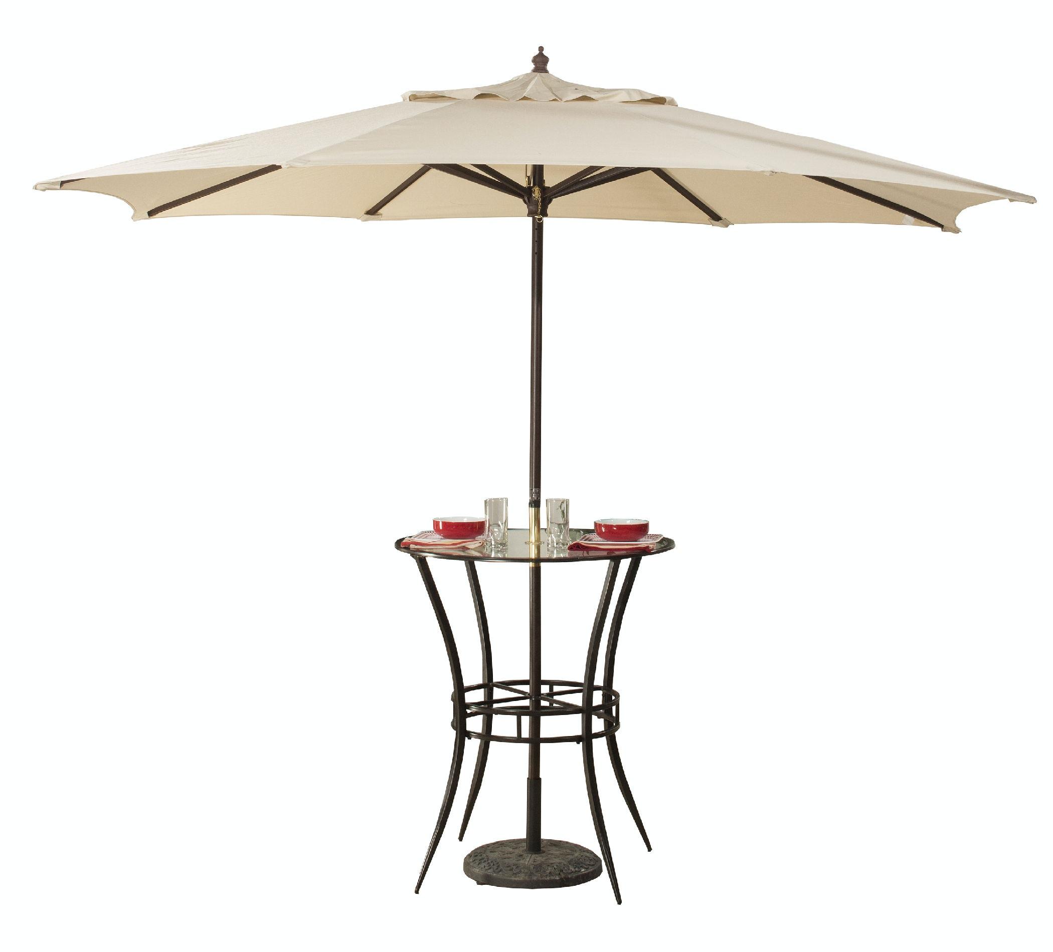 Hillsdale Furniture Indoor/Outdoor Bar Height Bistro Table 6323PTB