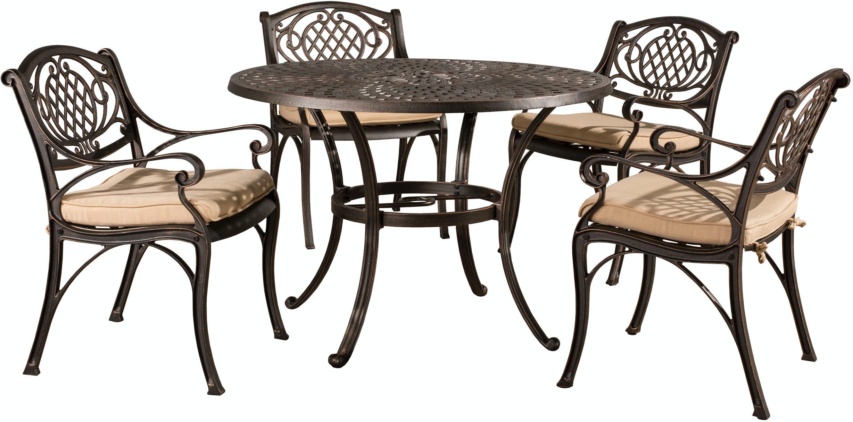 Hillsdale Furniture Outdoor Patio Outdoor Esterton 5 Piece