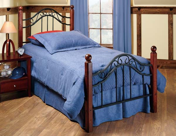 Hillsdale Furniture Madison Bed Set   Twin   Rails Not Included 1010BTW