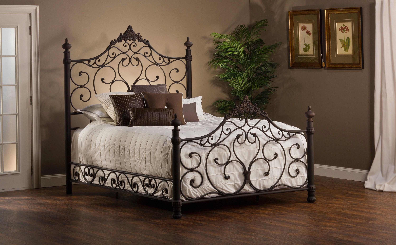 Queen Headboards Metal Highway Brown Metal Queen Size: Hillsdale Furniture Bedroom Baremore Bed Set