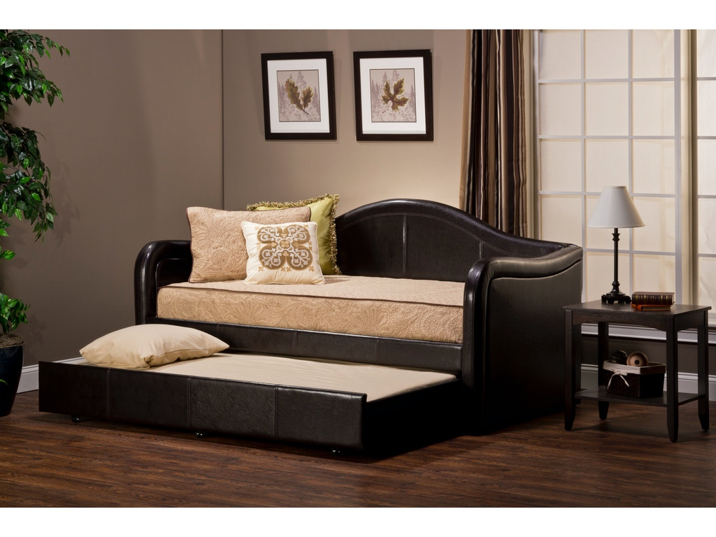 Hillsdale Furniture Bedroom Brenton Daybed With Trundle 1719dbt Carol House Furniture
