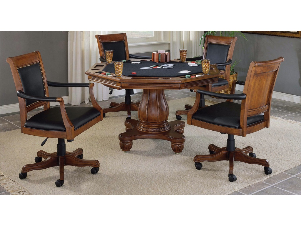 Hillsdale furniture bar and game room kingston 5 piece for Furniture quiz