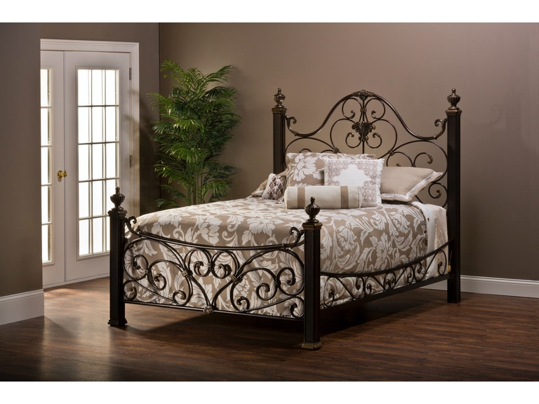 6a178d0e5425 Hillsdale Furniture Bedroom Mikelson Side Rails - Queen 1648-550 at Carol  House Furniture