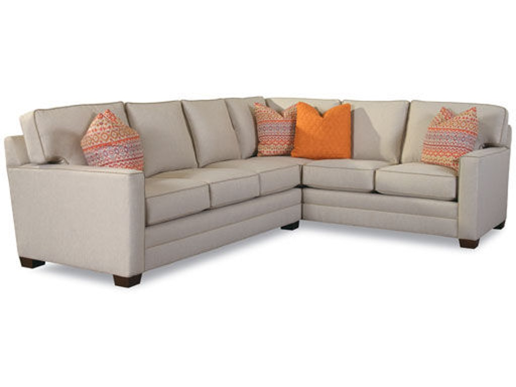 Huntington House Living Room Sectional 2053 Sect Hickory