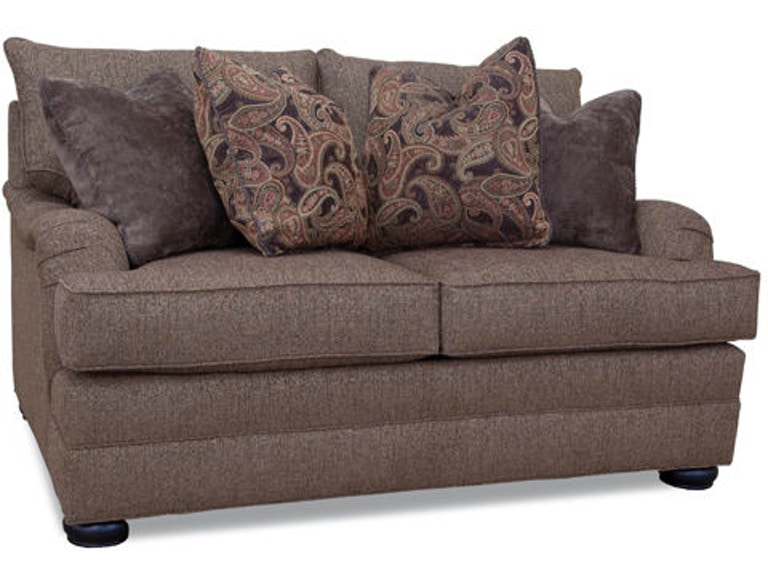 Huntington House Living Room Loveseat 2061 40 Lenoir Empire