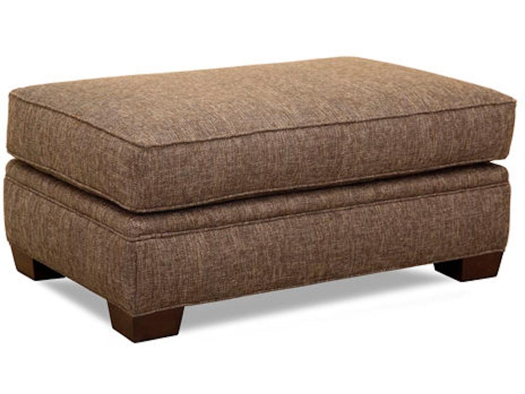 Huntington House Living Room Ottoman 2061 55 Hickory