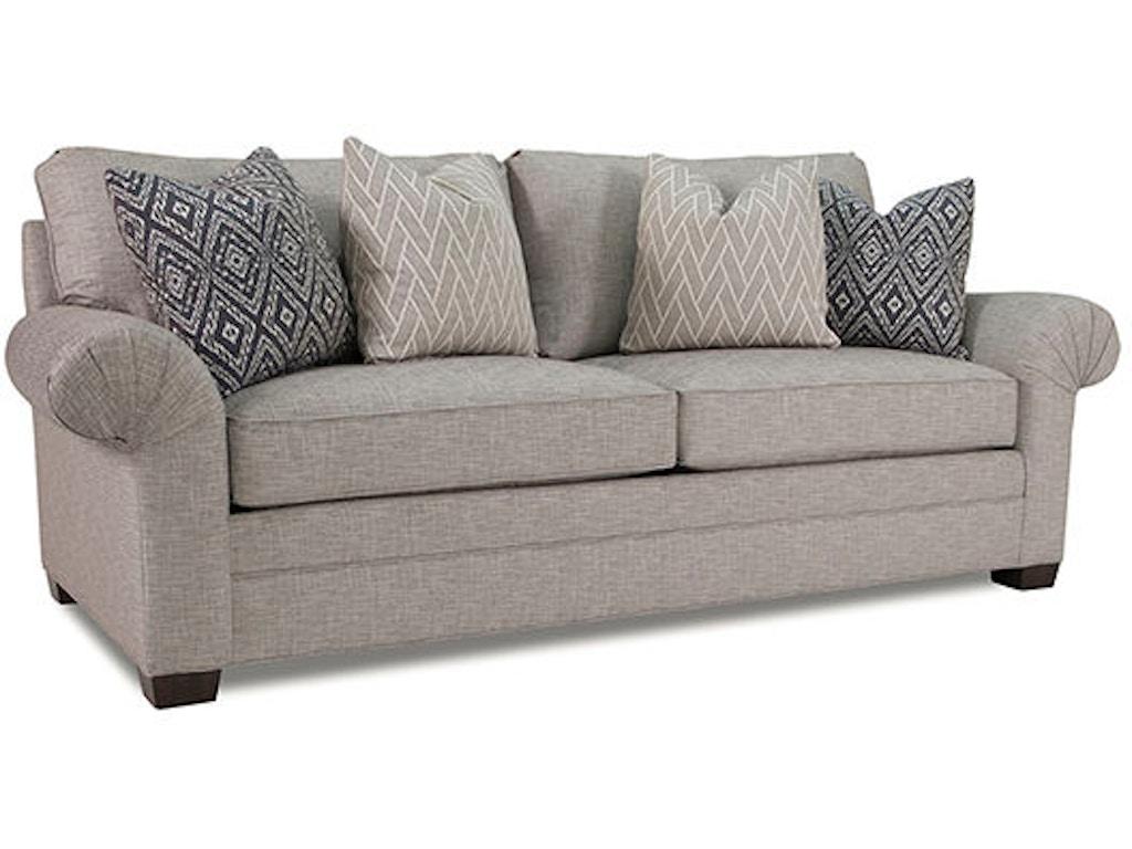 Huntington House Living Room Sofa 2062 70 Hickory