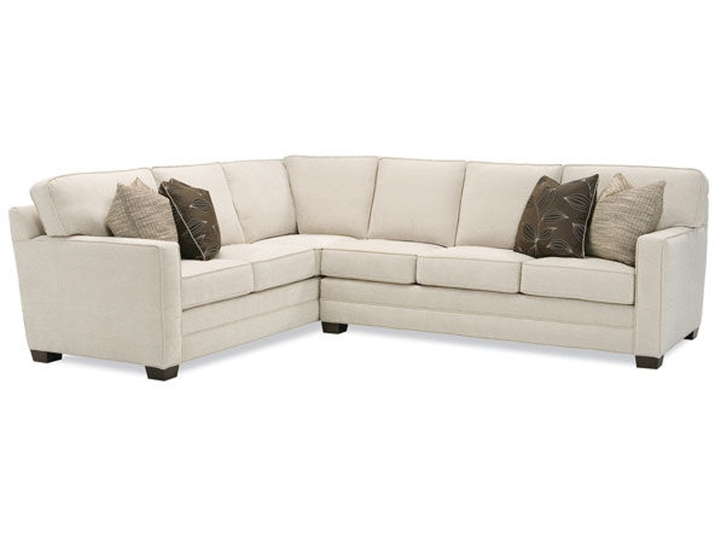 Huntington House Living Room Sectional 2062 Sect Hickory
