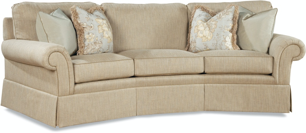 Huntington House Living Room Wedge Sofa 2062 28 Carol