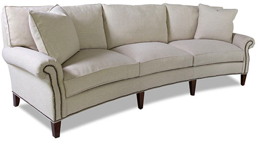 Huntington House Living Room Wedge Sofa 2200 28 Newport