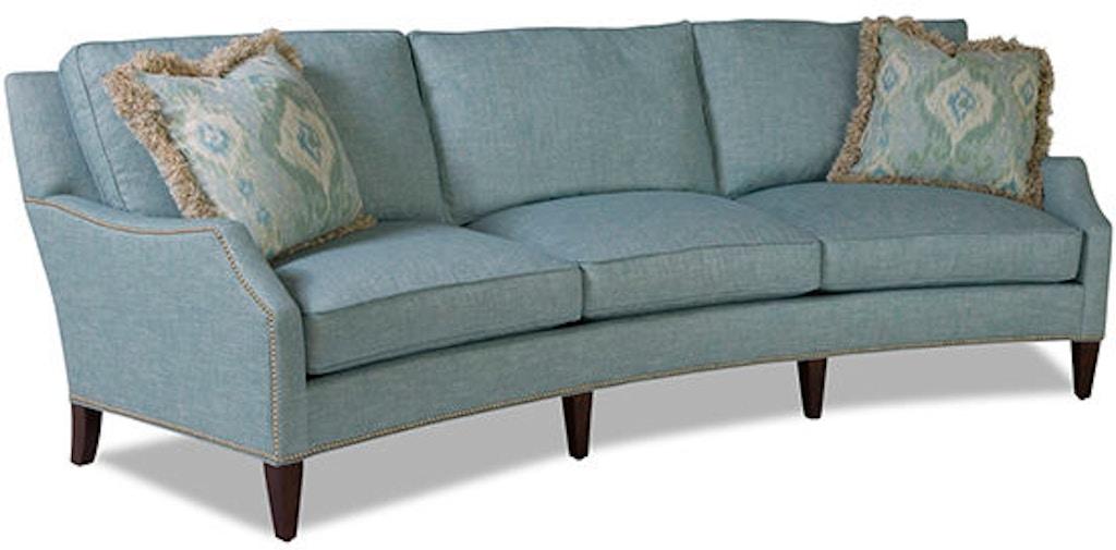 Huntington House Living Room Wedge Sofa 2200 28 Soho Carol House