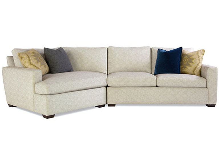 Huntington House Living Room Sectional 2300 Sect Mod Brownlee S