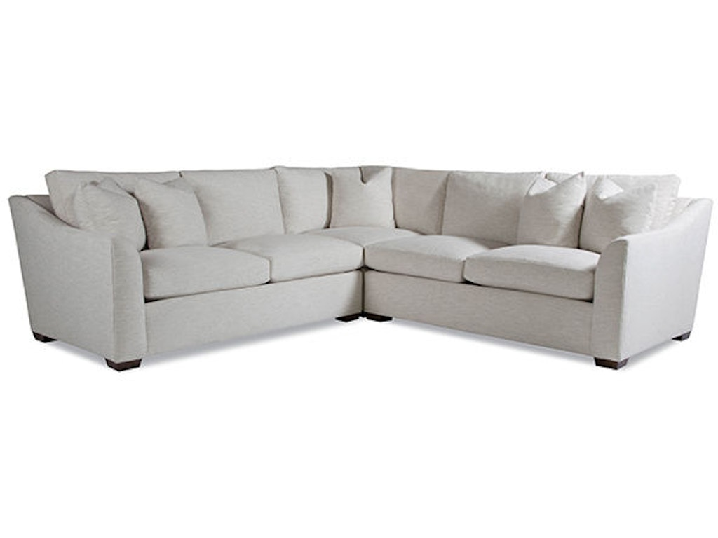 Huntington House Living Room Sectional 2300 Sect Pure Luxe Russell 39 S Fine Furniture San Jose