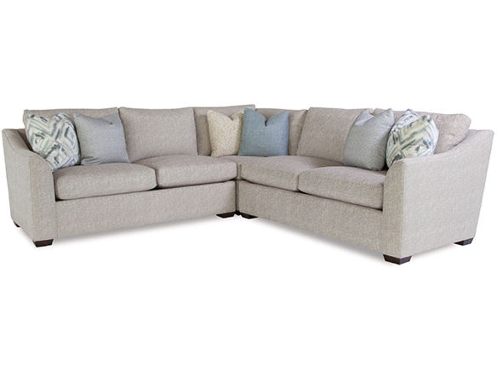 Huntington House Living Room Sectional 2300 Sect Pure Russell 39 S Fine Furniture San Jose Ca
