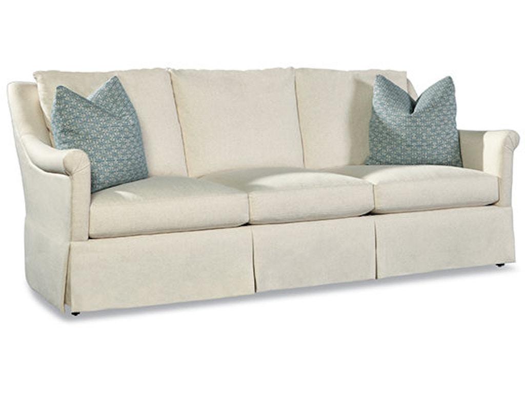 Huntington House Living Room Sofa 3201 20 Hickory