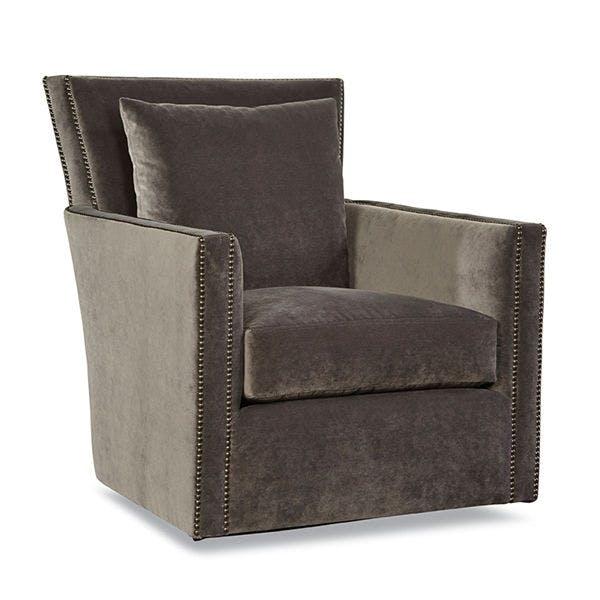 Smithe Signature Living Room Swivel Chair 7721 56 Walter E Smithe Furniture Design
